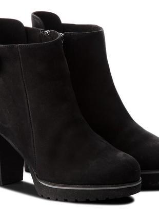 Ботинки caprice германия, оригинал. натуральная кожа. 37.5-40