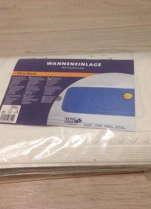 Антискользящий коврик для ванной на присосках размер 92*36 см.  германия, новый1