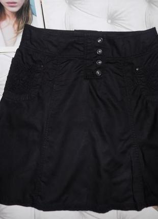 Стильная  юбка от mexx (лён + хлопок)