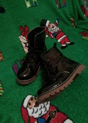 Misomini ботинки деми для девочки