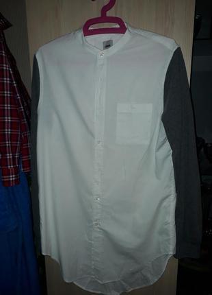Крутая удлиненная рубашка