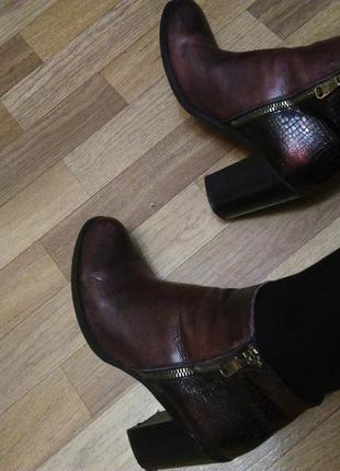 Ботинки осень италия