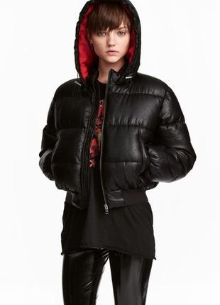 Теплая куртка h&m