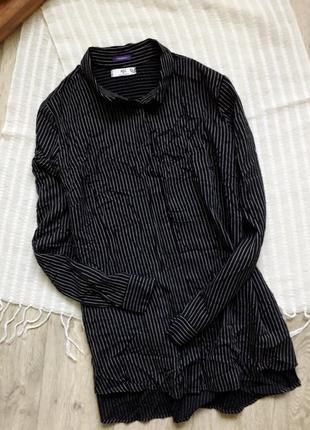 Трендовая рубашка в полоску