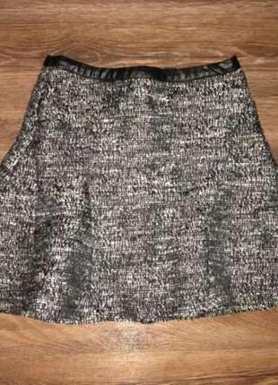 Шикарная теплая юбочка h&m