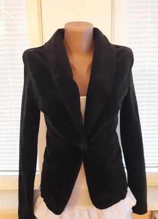 Бархатный жакет,пиджак от benetton
