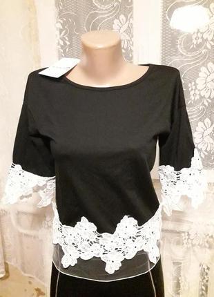 Новая красивая нарядная блуза/кофта