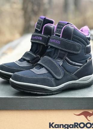 Зимние мембранные ботинки kangaroos