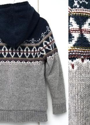 Меховая зимняя пайта, худи, меховушка, утепленная кофта с капюшоном m&s5