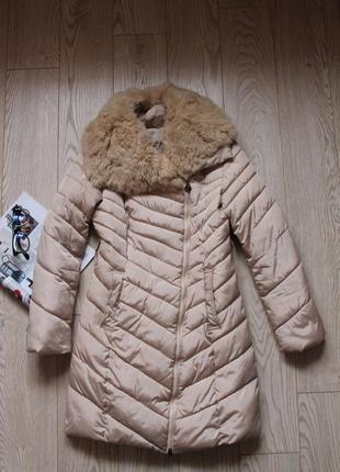 Очень классная куртка с кроликом