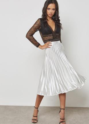 Изысканная юбка плиссе