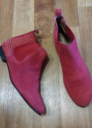 Замшевые ботинки челси andre франция