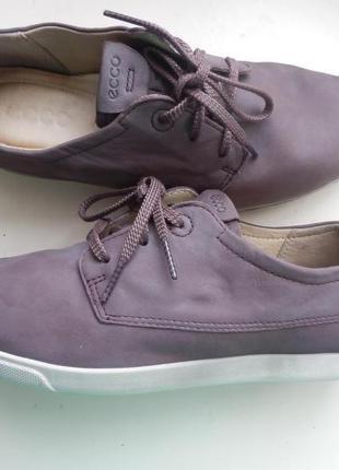 Кожаные туфли ессо 40р 26см