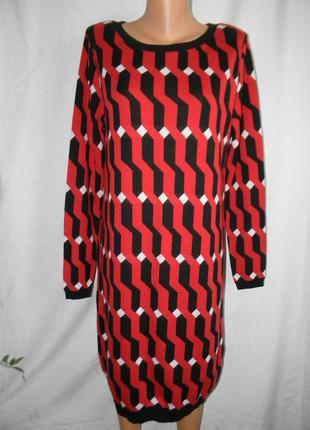 Теплое новое платье tu