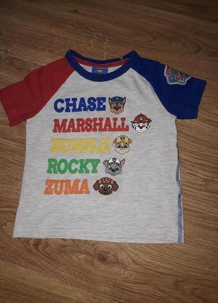 Классная футболка на 1,5-5 года george