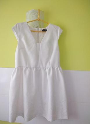 Нарядное белое платье dorothy perkins