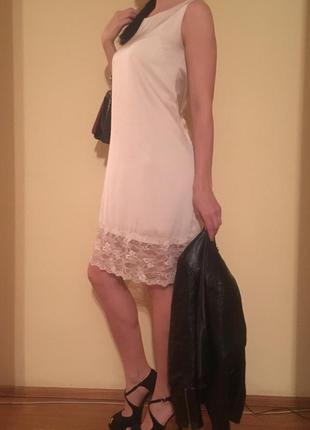 Платье шёлк армани