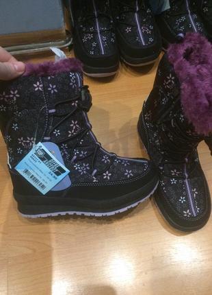 Детская зимняя обувь дутики сапоги амі тех