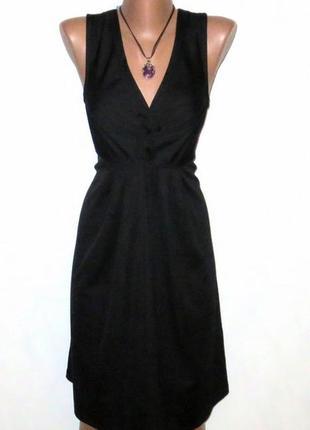 Роскошное черное платье от besired стройнит размер: 46-м