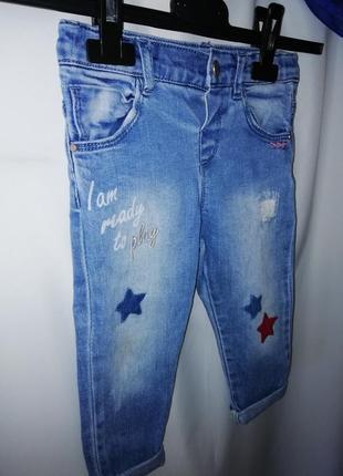 Стильные джинсы 1,5-2года zara4