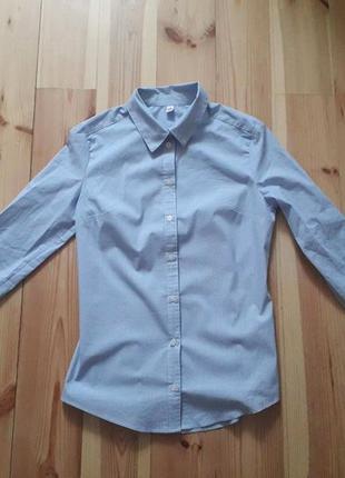 Женская рубашка в полоску zolla
