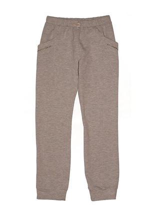 Новые спортивные серые штаны на байке для девочки, original marines, 3838
