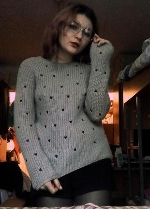 Очень теплый, мягкий свитер