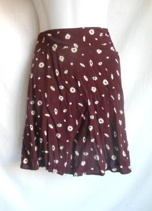 Новая юбка в цветочек f&f.оригинал!сделано для англии.