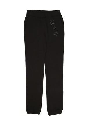 Новые черные спортивные брюки для девочки, original marines, 4571
