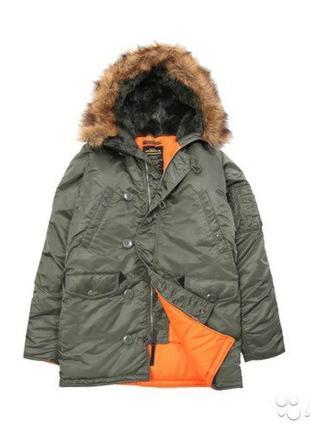 Мужская куртка alaska alpha industries