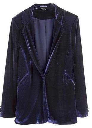 Шикарный велюровый пиджак .esmara/германия.