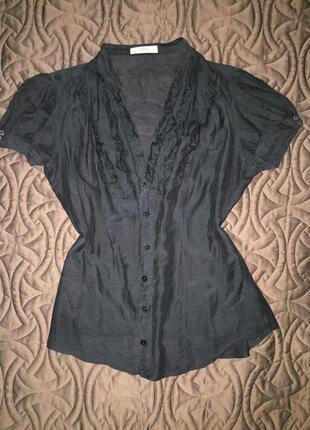 Блуза рубашка marks & spencer