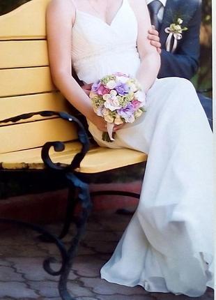 Свадебное платье, салон novia, греческий стиль