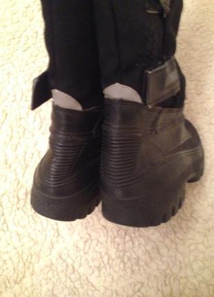 Зимние резиновые сапоги гумовые гумачки5 фото
