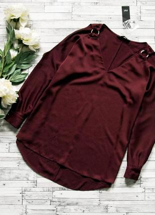 Блуза с открытыми плечиками f&f
