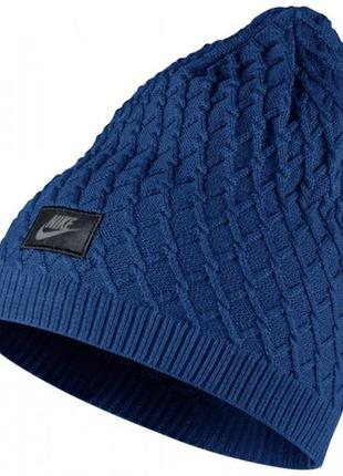 Шапка nike cable knit beanie оригинал арт.717118-455