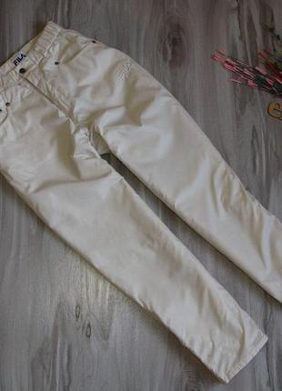 """Штаны тепленькие """" fila """" ( плащевка/ синтепон) размер eur 38"""