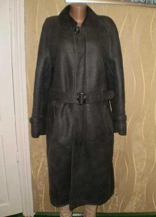 Дубленка пальто натуральная вся эксклюзив!!