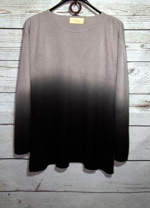 Frank saul красивый пуловер кофта амбре из акрила