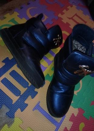 Сникерсы сникеры ботинки деми хайтопы