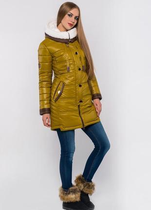 Тёплая зимняя куртка, цена ниже некуда !