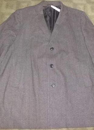 Пальто муж. 50% шерсть
