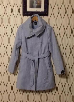 Нежно голубое пальто atmosphere, новое!
