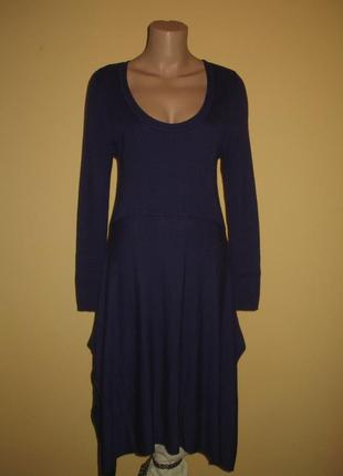 Платье   темно-фиолетовое