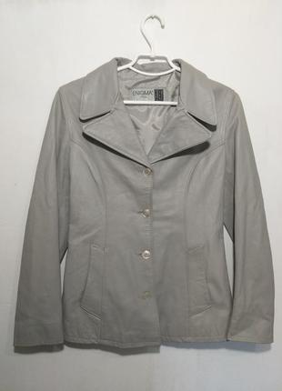 Кожаная куртка , пиджак enigma italia