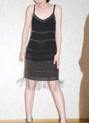 Нарядное платье в ретро стиле