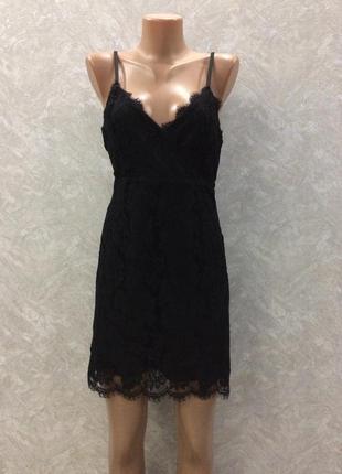 Вечернее гипюровое платье new look