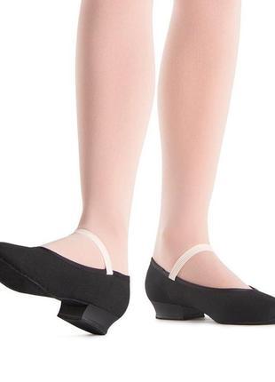 Туфли для танцев с кожаной подошвой