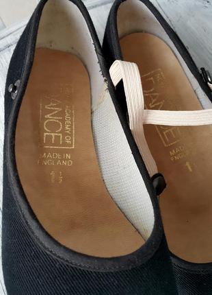 Туфли для танцев с кожаной подошвой3