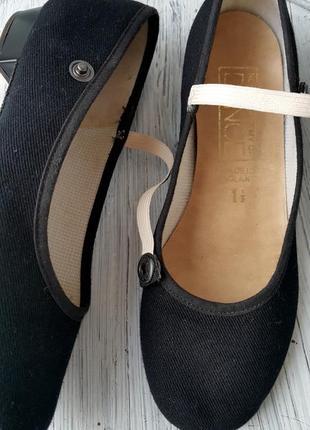 Туфли для танцев с кожаной подошвой4